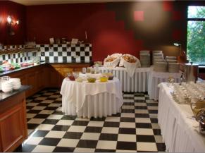 Buffet du restaurant
