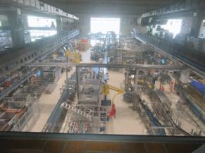 chaîne de production