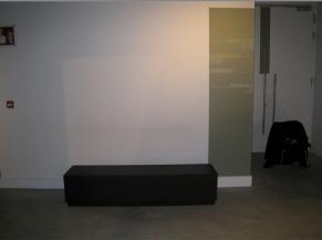 Zone de repos dans le musée