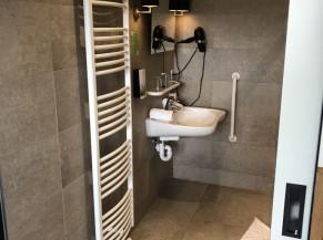 Salle de douche (chambre adaptée)